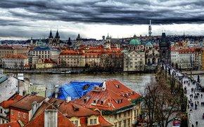 Czech Republic, Prague, Prague, panorama