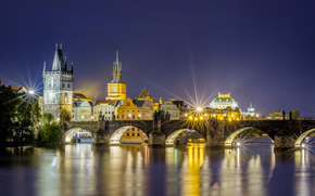 Czech Republic, Charles Bridge, Prague