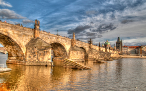 Czech Republic, Charles Bridge, Prague