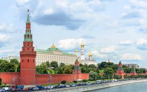 Cremlino, panoramica, Mosca