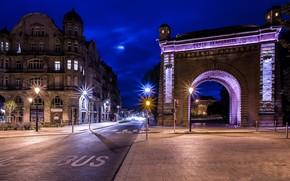 Porte Serpenoise, Metz, Francia
