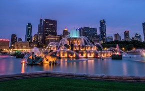 Buckingham Fountain, Chicago, USA