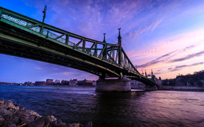 Мост Свободы, Liberty Bridge, Будапешт, Венгрия