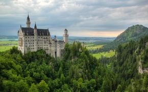 Castello di Neuschwanstein, Baviera, Germania, Castello di Neuschwanstein, Bayern, Germania