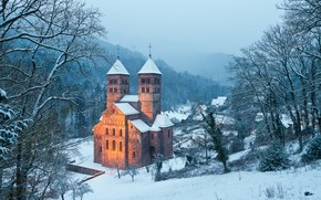 Abbaye de Murbach, Монастырь, France