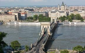 Budapest, Hungary, город, мост
