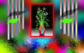 fractal, abstraction, 3d, art
