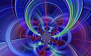 fractal, abstracción, 3d, arte