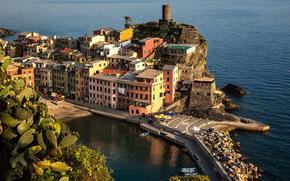 Vernazza, Cinque Terre Wybrzeże, Włochy