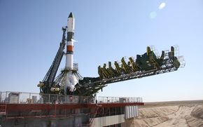 rocket, Soyuz-U, TGC Progress M-28M, Spaceport, Baikonur, space