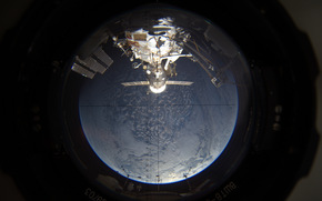 porthole, ISS, space