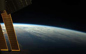 Рассвет, МКС, Земля, космос