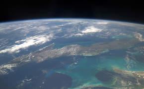 Cuba, Caribe, terra, espaço