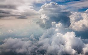 sky, clouds, nature