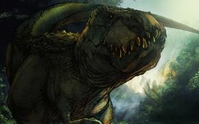 Tyrannosaurus, dinosaurs, Ancient animals