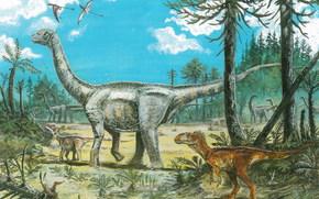 dinosauri, Animali antico, pittura