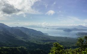 Филиппины, Pilipinas, горы, холмы, пейзаж, природа, небо, облака