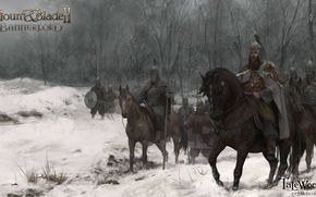 Mount and Blade 2: Bannerlord, Mount and Blade 2, Bannerlord, esercito, Riders, Art