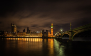 Big Ben, Westminster Bridge, london