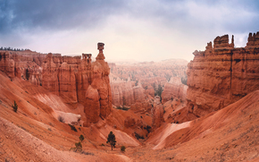 Bryce Canyon National Park, Utah, Montagne, Rocce, paesaggio