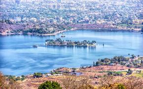 Fateh Sagar Lake, Udaipur, индия