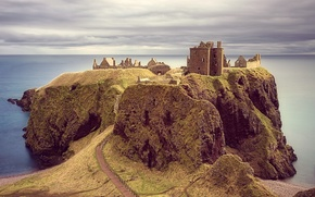 Castello di Dunnottar, Castello di Dunnottar, Scozia