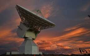 New Norcia Station, Australia, Radar, space, sky, evening