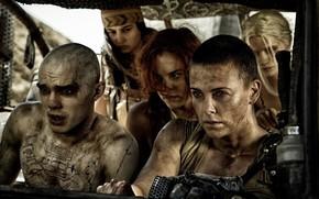 фотокартина, печать на холсте на заказ Украина ArtHolst Mad Max: Fury Road, Безумный Макс: Дорога ярости, Charlize Theron