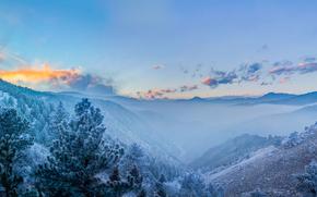 Front Range, Montagne Rocciose, Colorado, Front Range, Le Montagne Rocciose, Colorado, Montagne, panorama