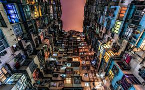 Дом, окна, двери, плинтуса, Гонконг, Китай