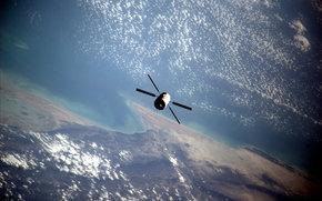 tierra, espacio, ciencia, equipo, Órbita, nubes, aparato, agua, tierra