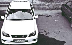 Toyota, Altezza, TRD, biały, samochód, Sport, Dryfować