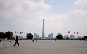 area, Pyongyang, North Korea, home, city