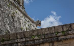 Chichen Itza, Yucatan, Messico, architettura