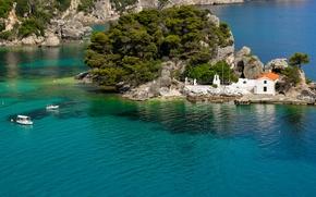 Parga, Grecia, Parga, Grecia, mare, isola, paesaggio