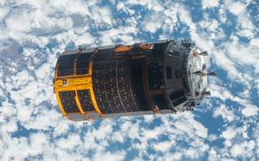 céu, espaço, Navio de carga japonês, ciência, equipamento
