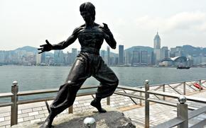 фотокартина, печать на холсте на заказ Украина ArtHolst Bruce Lee, Hong Kong, China