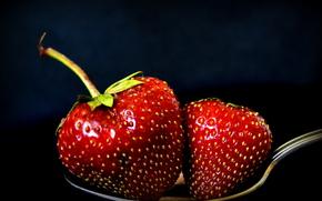 cuchara, BERRY, fresas