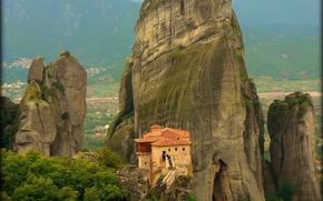 Griechenland, Meteora Kloster, paesaggio