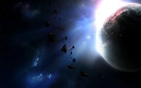 cielo, Planeta, tierra