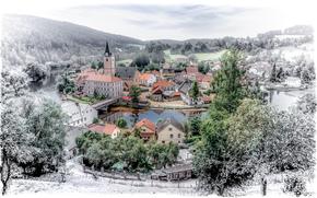 Rožmberk nad Vltavou, czech republic, city