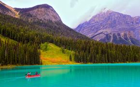 Emerald Lake, Rocky Mountains, Canada
