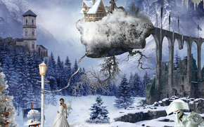 surrealismo, Fantasmagoria, 3d, arte