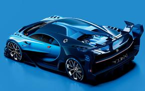2015, Bugatti, Visione, Gran Turismo