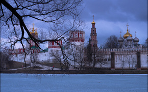 Russia, Moscow, Novodevichy Convent, Юрий Дегтярёв
