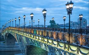 Russia, Moscow, Patriarchal bridge