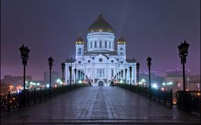 Moscow, Patriarchal bridge, Cathedral of Christ the Savior, Yuri Degtyarev