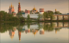 Moscow, Novodevichy Convent, Russia