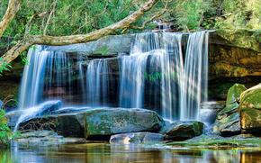 cascada, Costa Central de Nueva Gales del Sur, Australia
