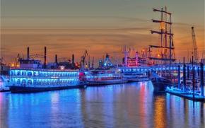 Синий Порт, Гамбург, германия